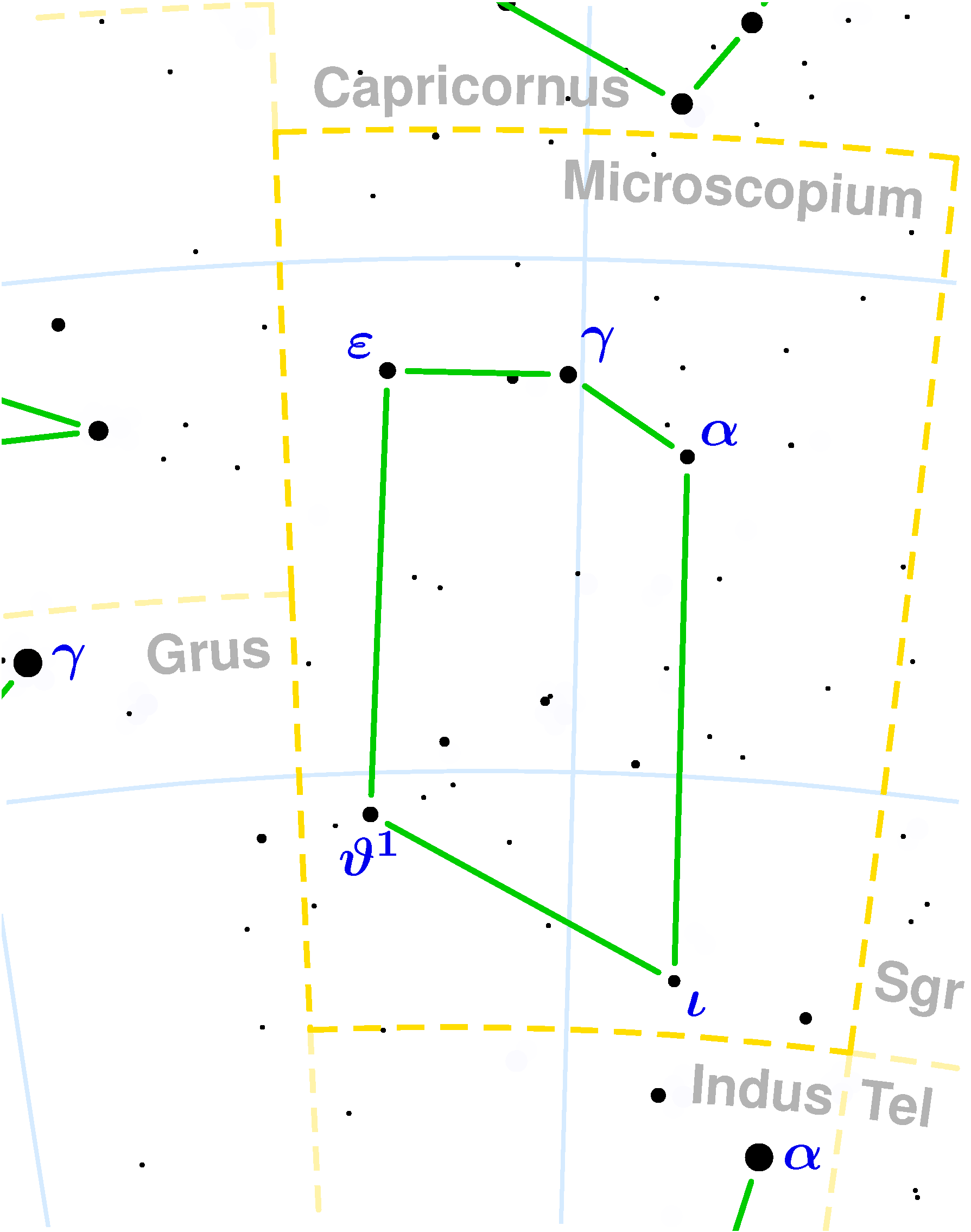 File:Microscopium constellation map.png - Wikimedia Commons