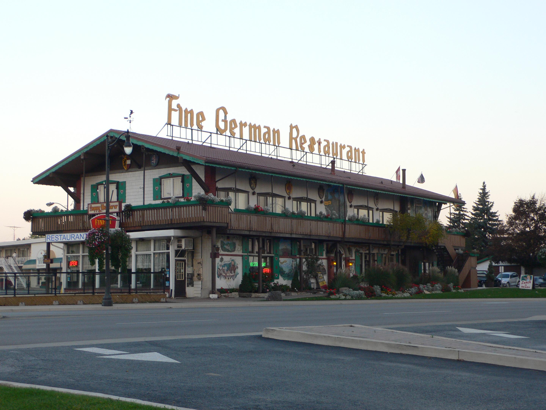 File Niagara Falls German Restaurant Jpg
