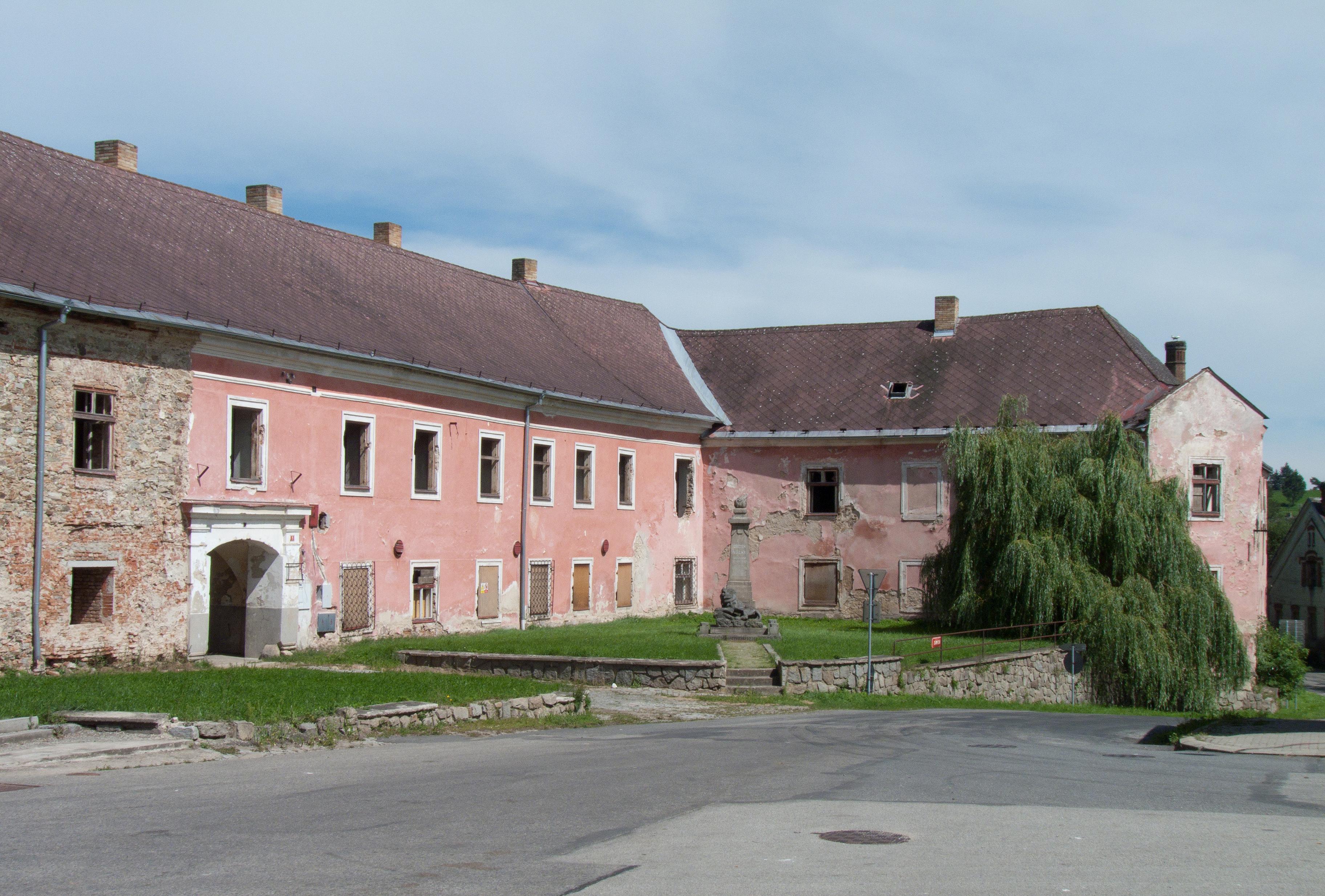 zámek Nová Včelnice