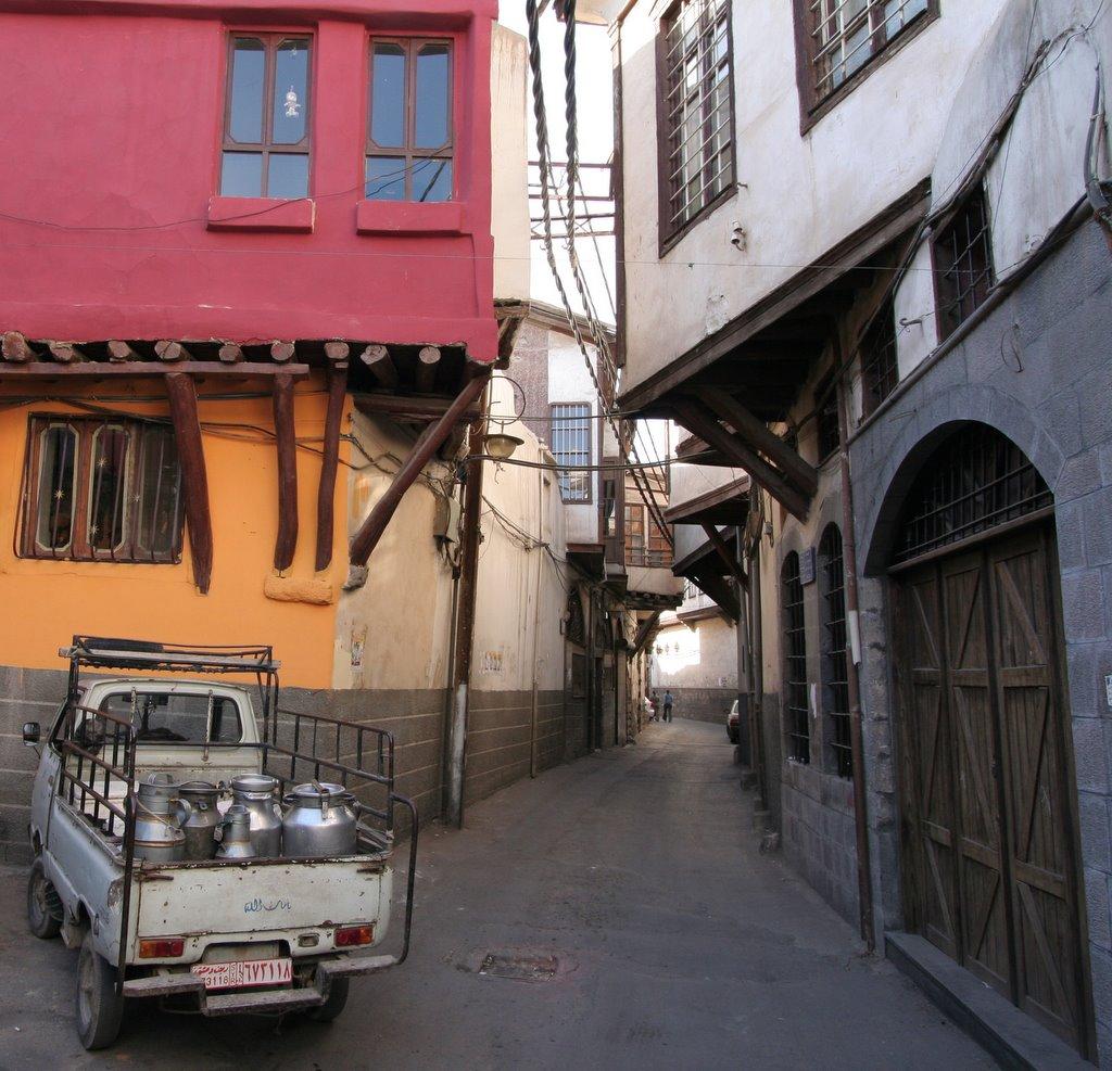 Présentez-vous à la classe (B1 1 octobre 2012) Old_damascus_street