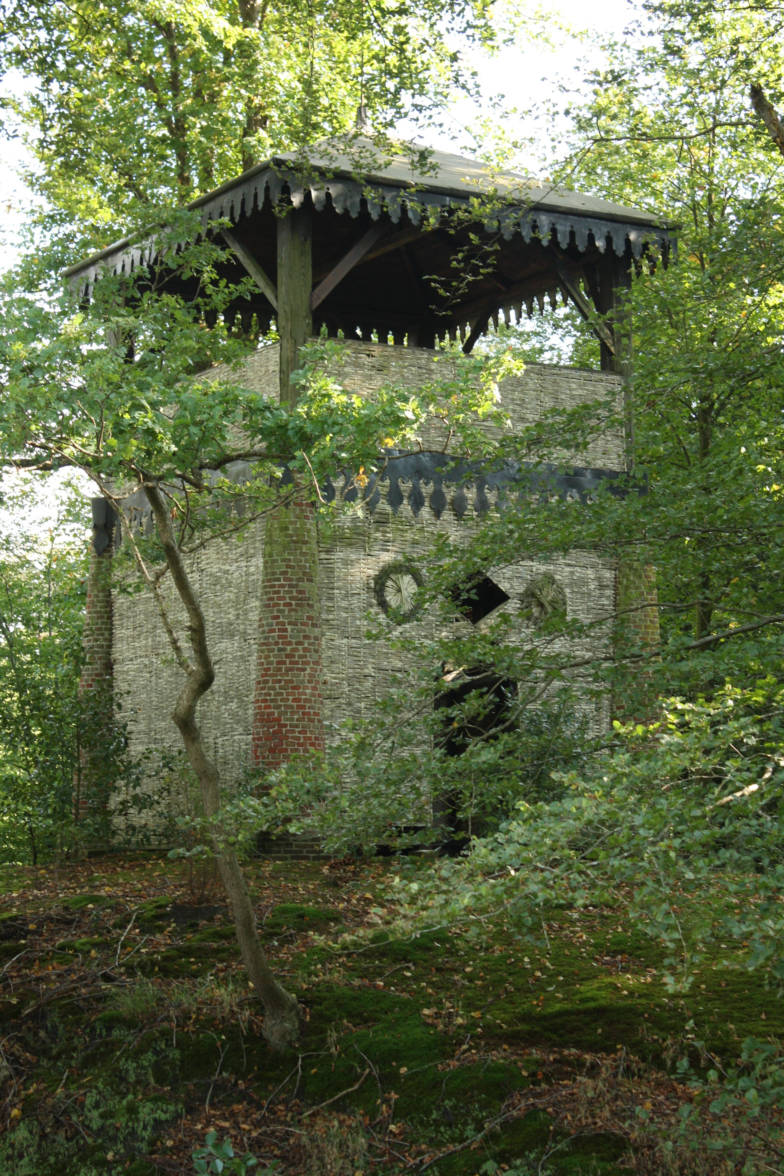 Belvédère of uitkijktoren in oranjewoud (friesland)   Monument -  Rijksmonumenten.nl