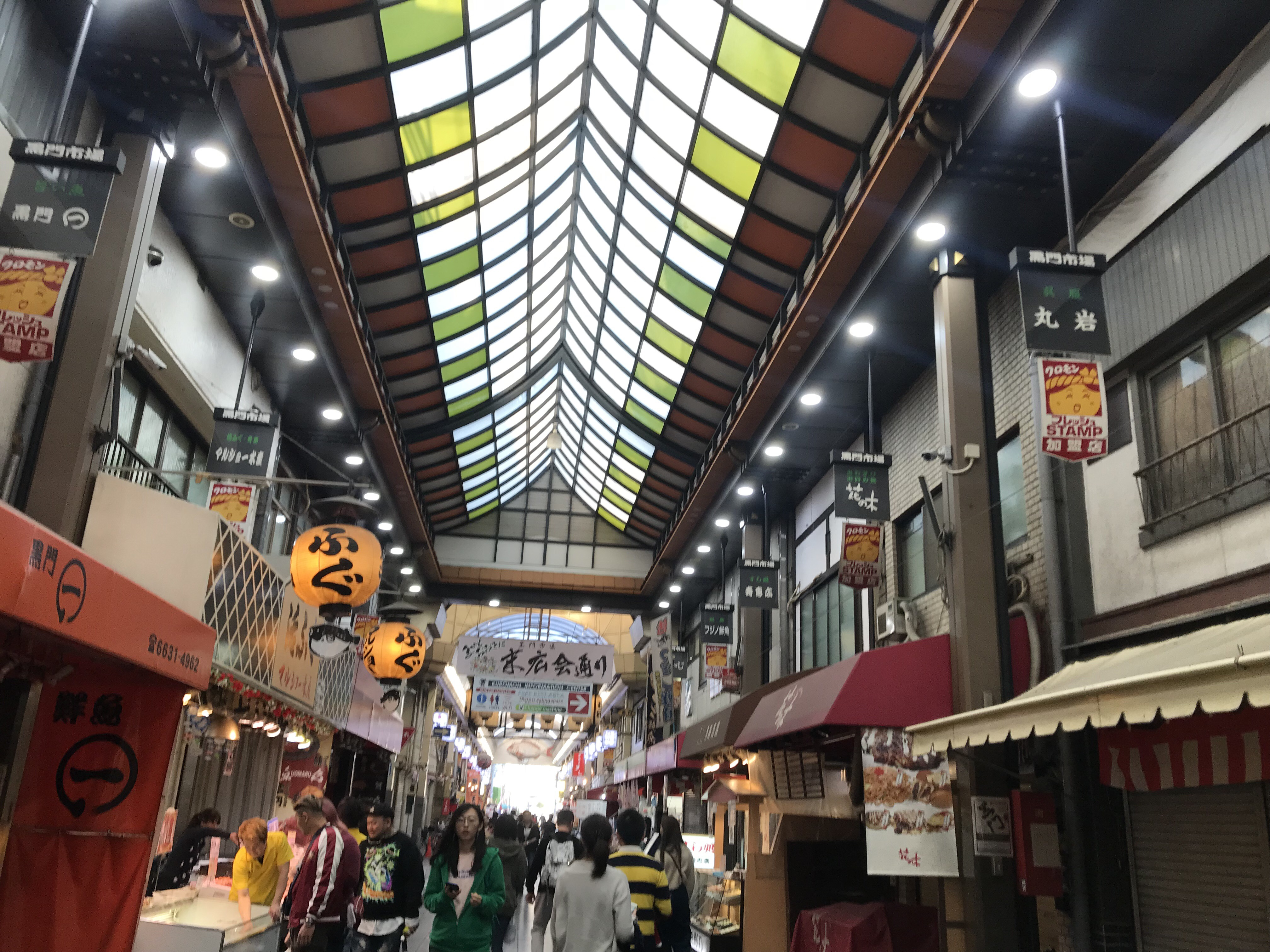things to do in osaka - Kuromon Market