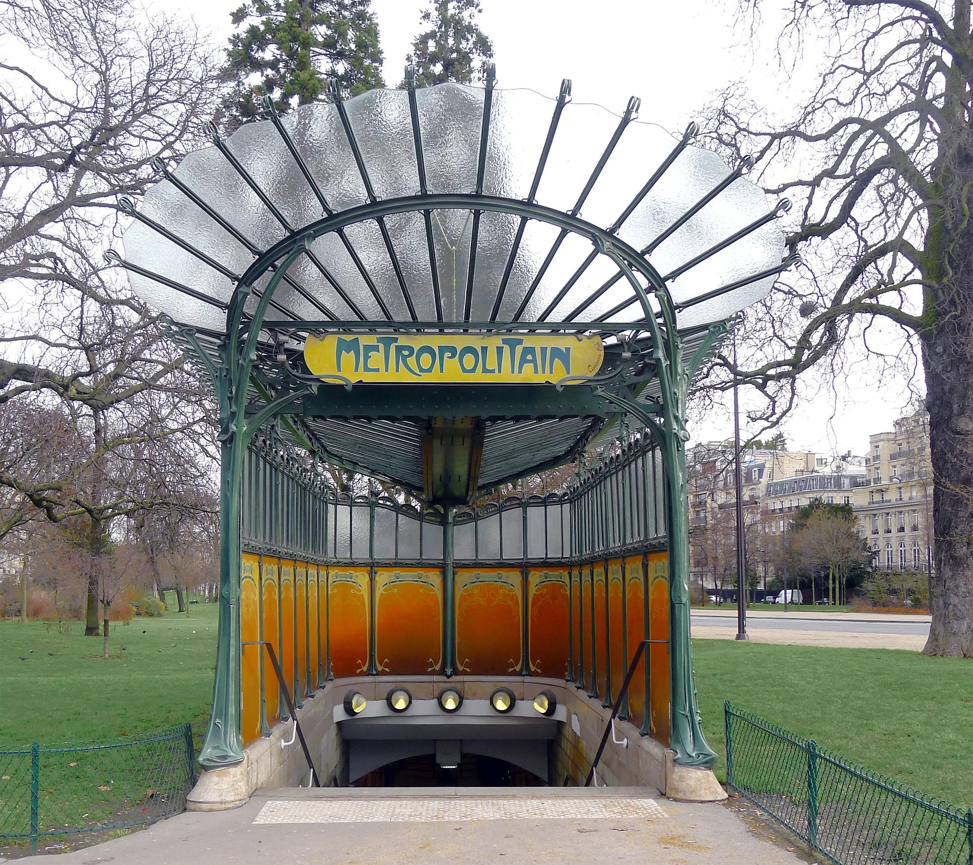File p1160213 paris xvi porte dauphine edicule guimard wikimedia commons - Portes ouvertes paris dauphine ...