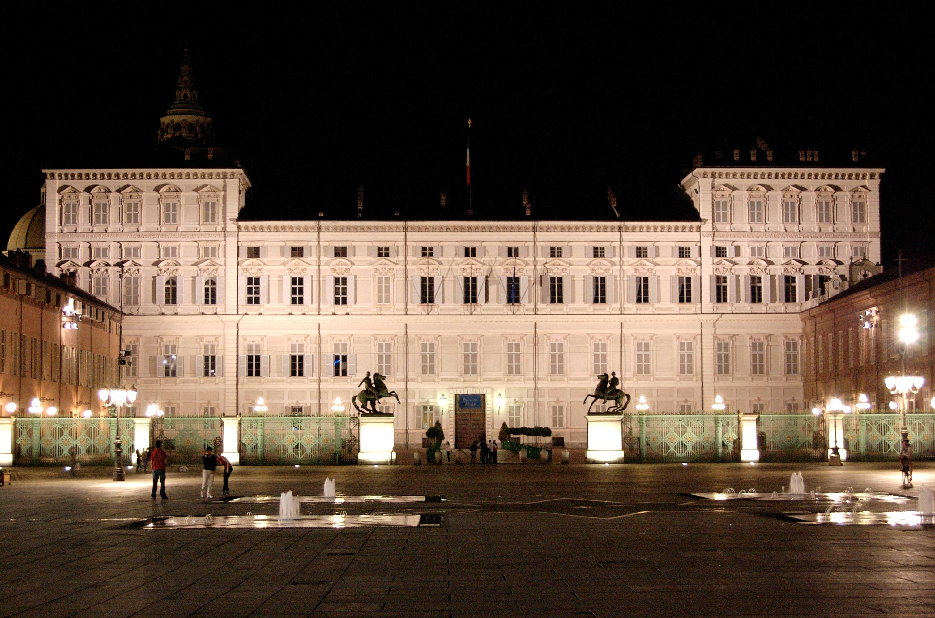 Королевский дворец турин фото