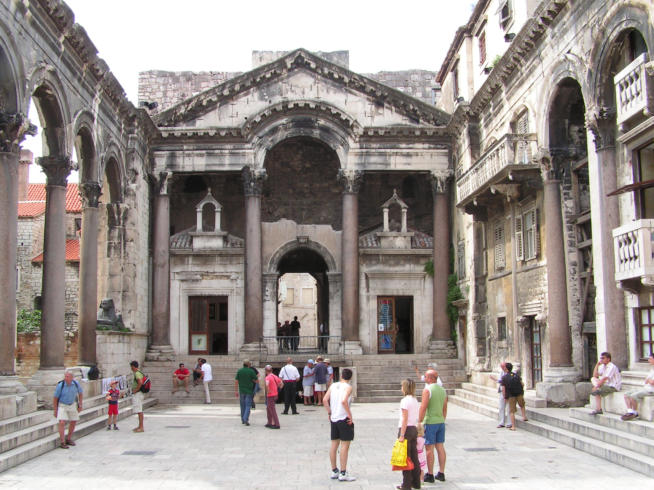 Palace of Diocletian, Split Croatia, Split