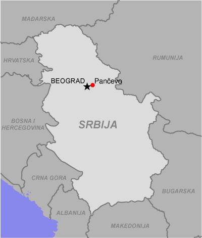 pancevo mapa srbije Pančevo   Wikipedia pancevo mapa srbije