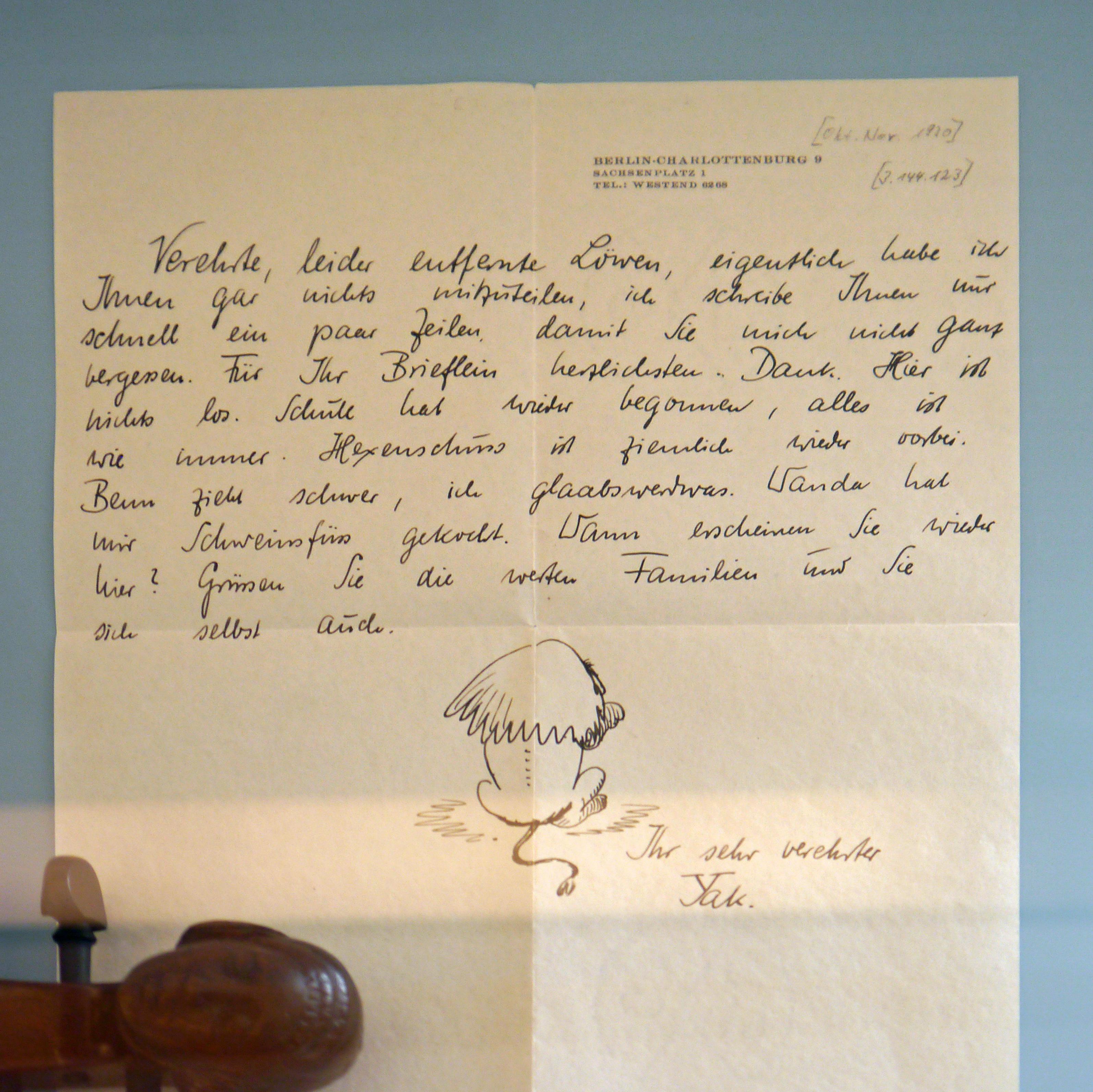 Dateipaul Hindemith Brief Im Kuhhirtenturm 2017 Ffm Sachsenhausen