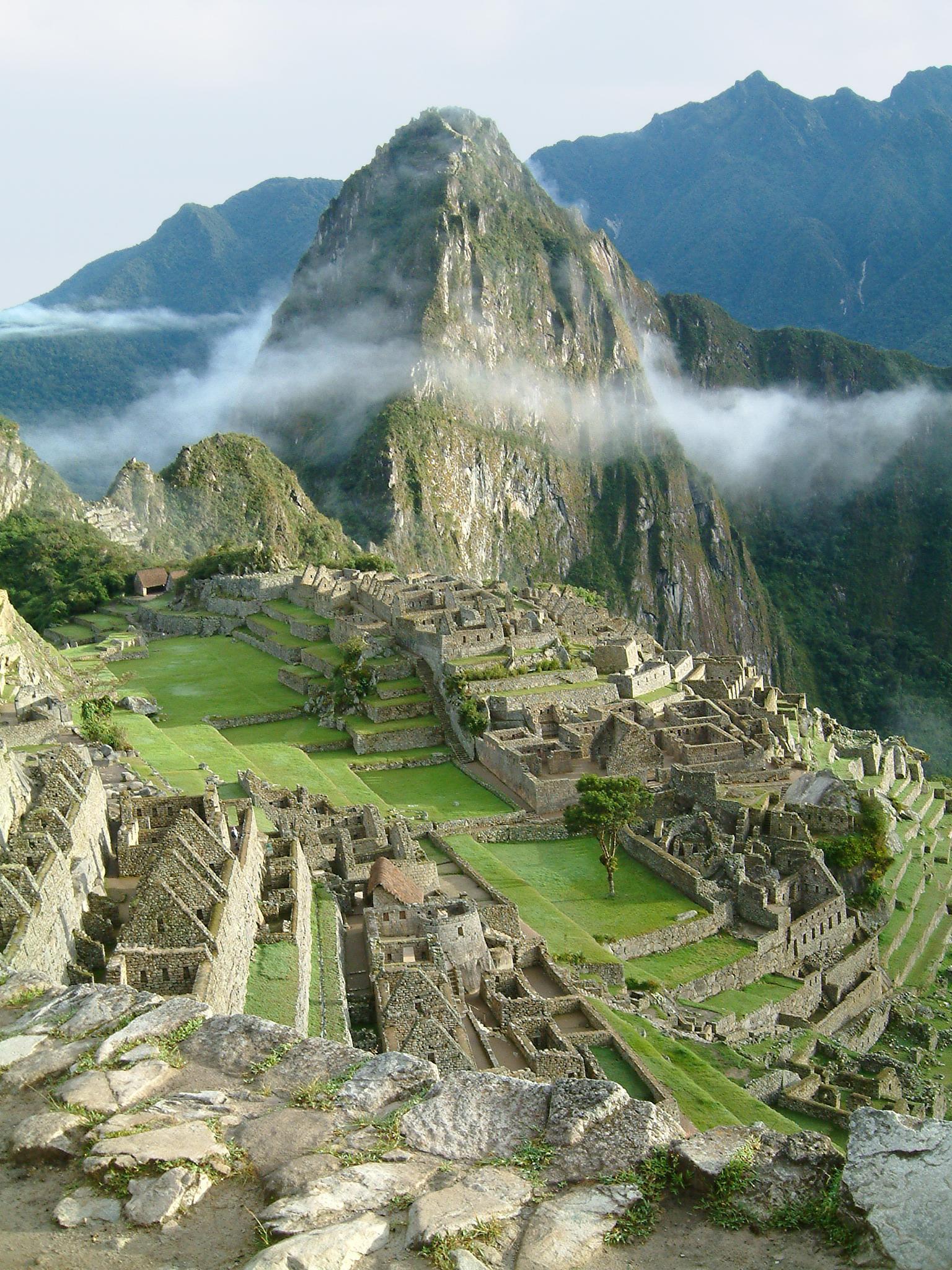 Peru Machu Picchu Sunset
