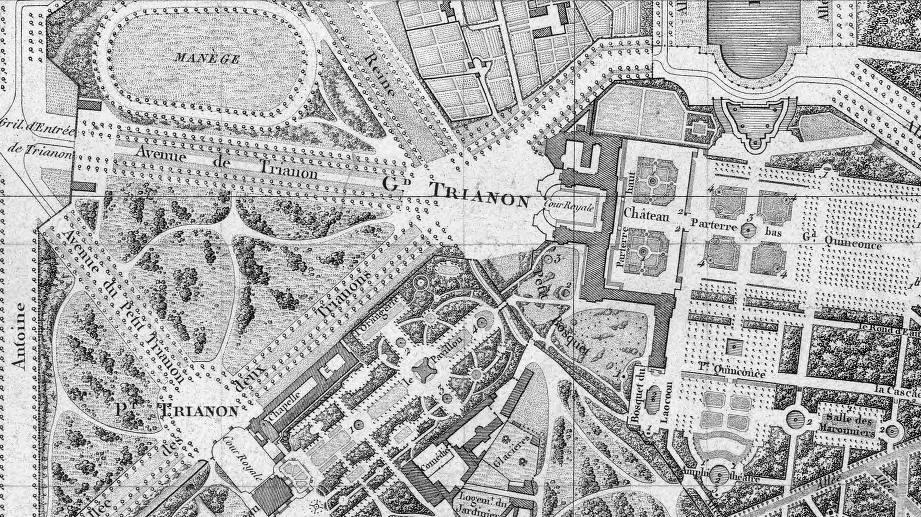 File plan de la ville du ch teau et du parc de versailles for Les jardins de la ville