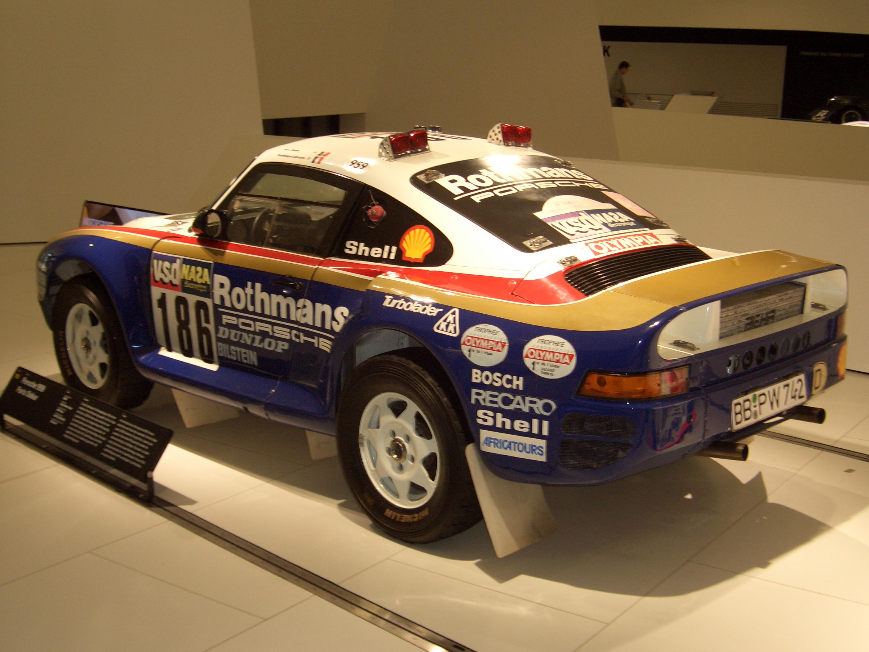 File Porsche 959 Coupe Paris Dakar 1985 Backleft 2009 03