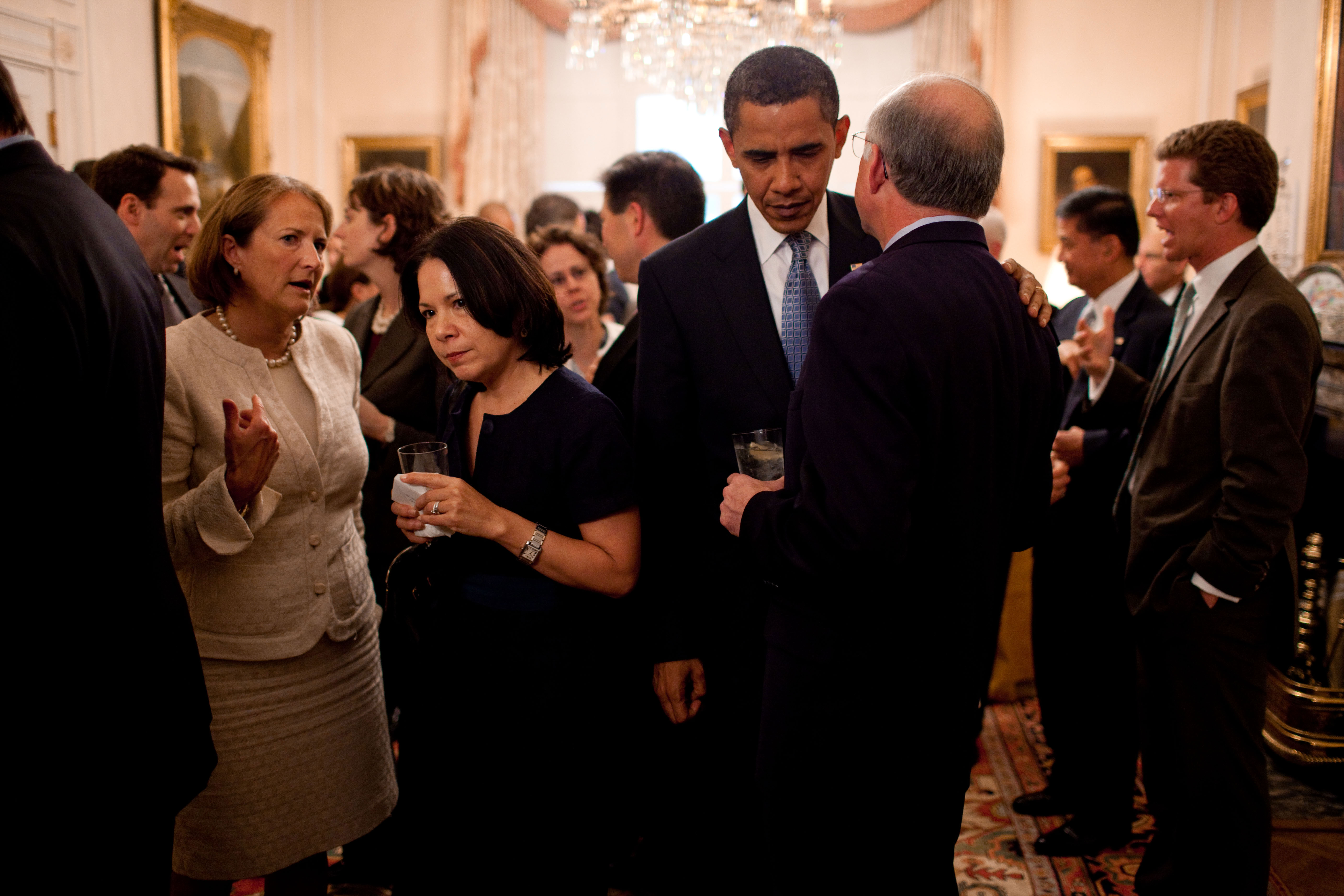File:President Barack Obama speaks with Secretary of the Interior ...