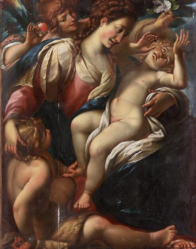 a review of madonna and child with saint francis and dominic and angels a painting by giulio cesare  Full text of catalogue, descriptive and historical, of the pictures and sculpture in the glasgow art gallery and museum, kelvingrove see other formats.