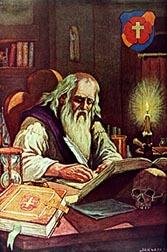 Christian Rosenkreuz (literalmente, «Christian Cruz de Rosas», en español  Christian Rosacruz) es el legendario fundador de la Orden Rosacruz,  presentada en
