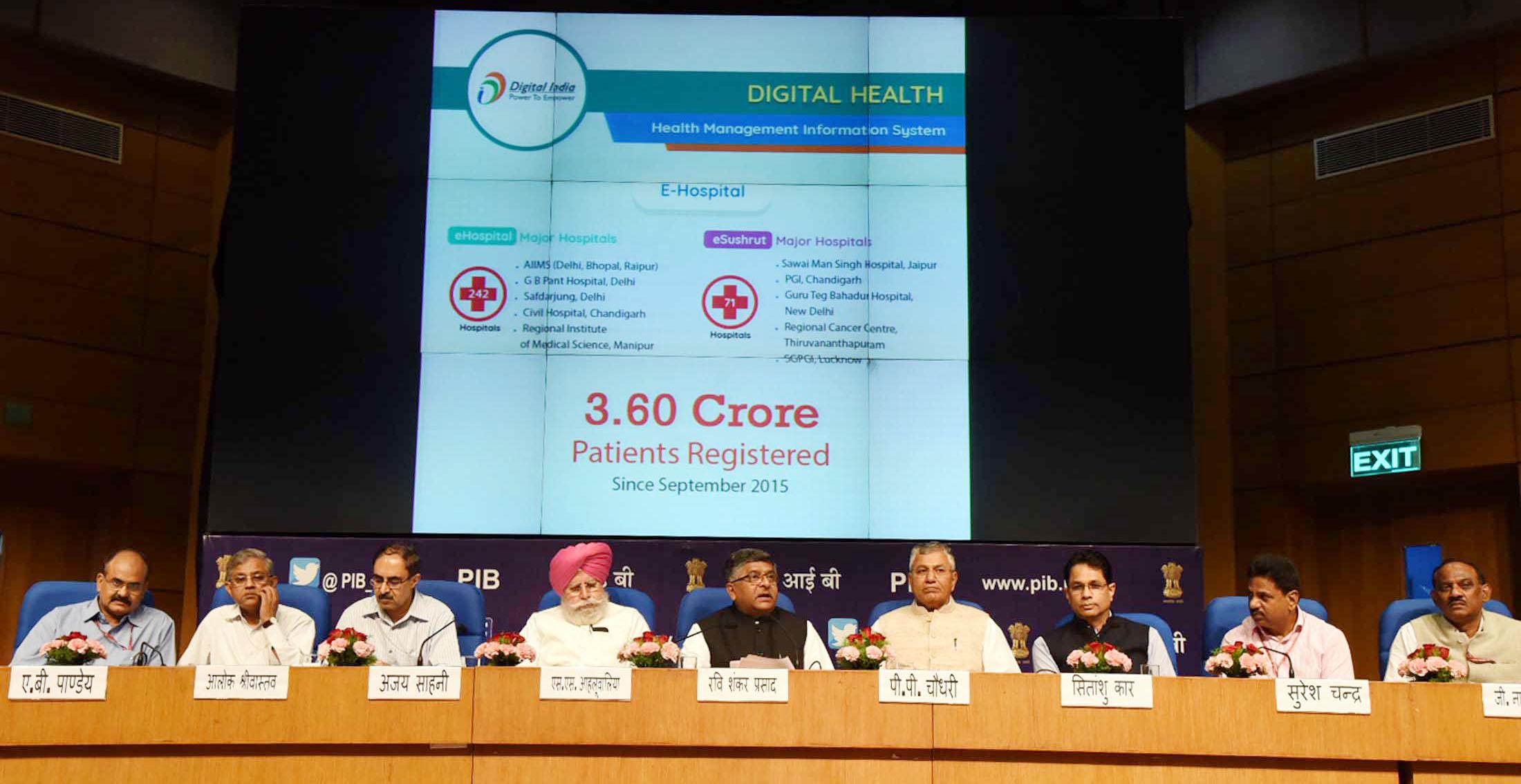 File:Ravi Shankar Prasad addressing a press conference on the