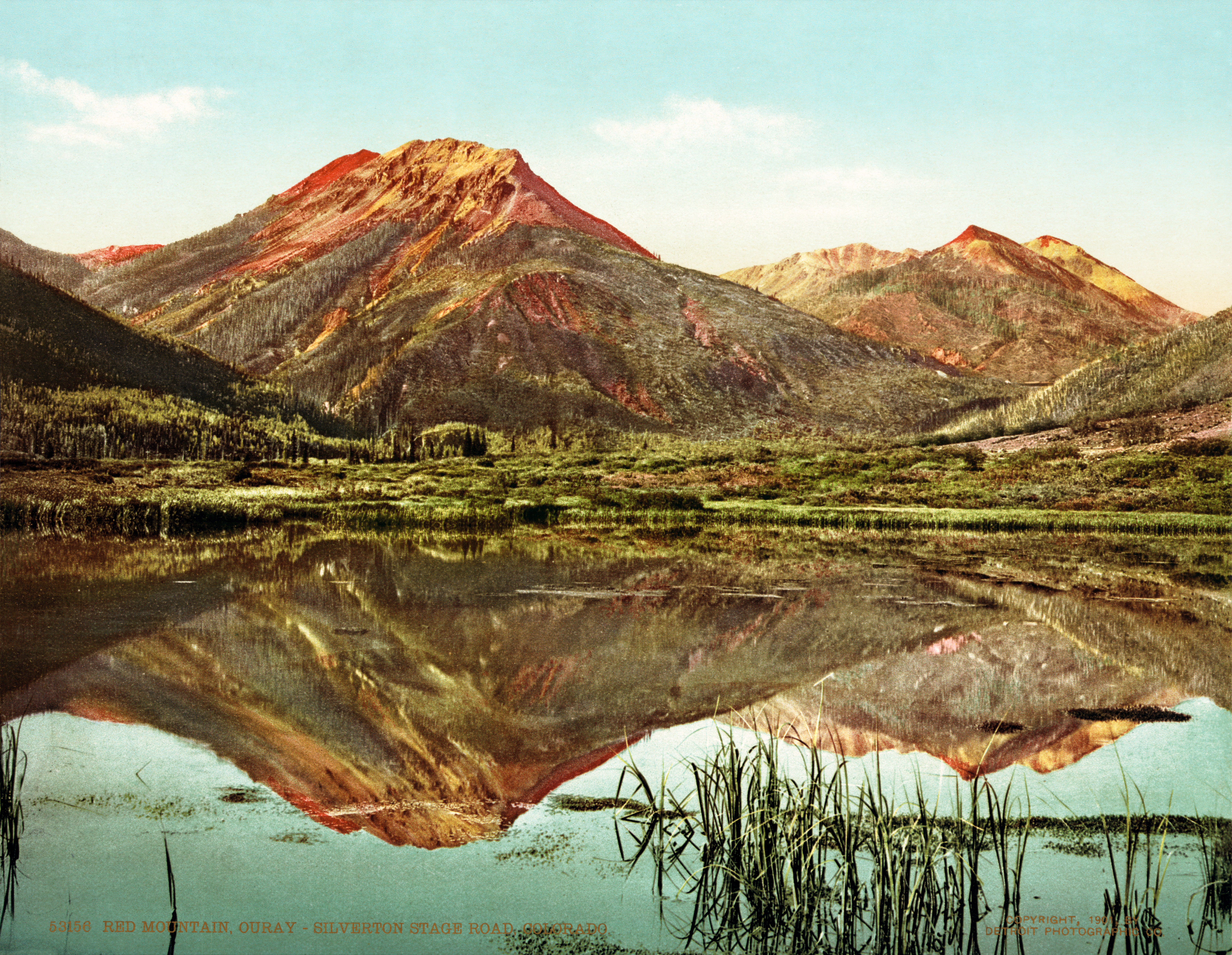File red mountain pass ouray silverton stage road colorado 1901 jpg