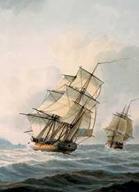 Image illustrative de l'article HMS Discovery (1774)