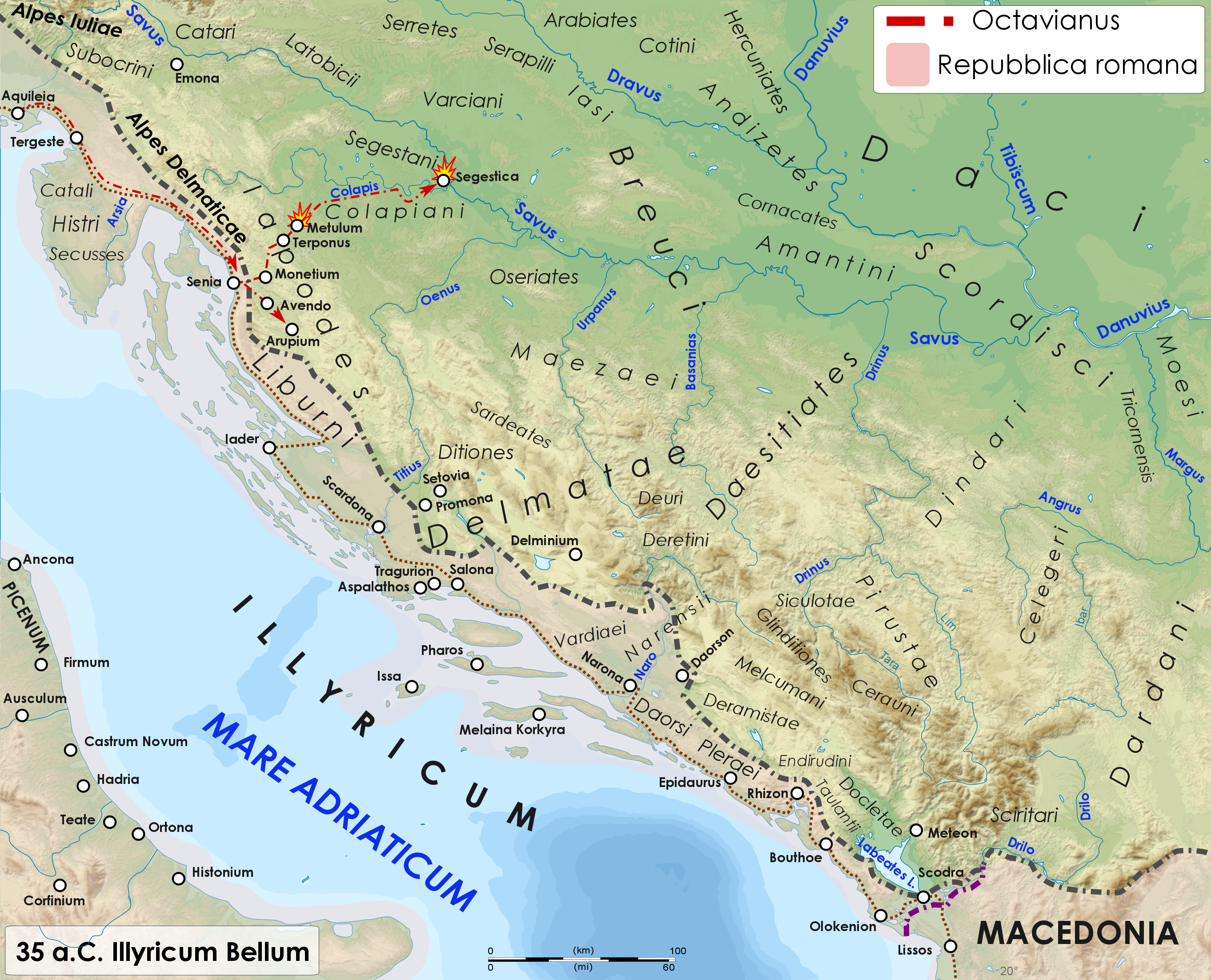 File:Roman war in Illyri 35 BC.png - Wikimedia Commons on