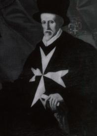 Juan de Homedes y Coscon grand MAster of the Knights Hospitaller