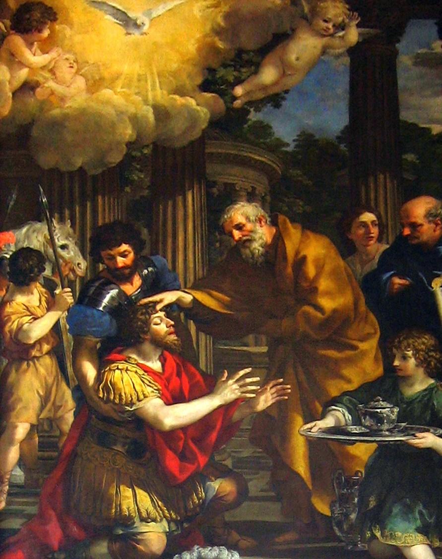 Ananias botar Paulus