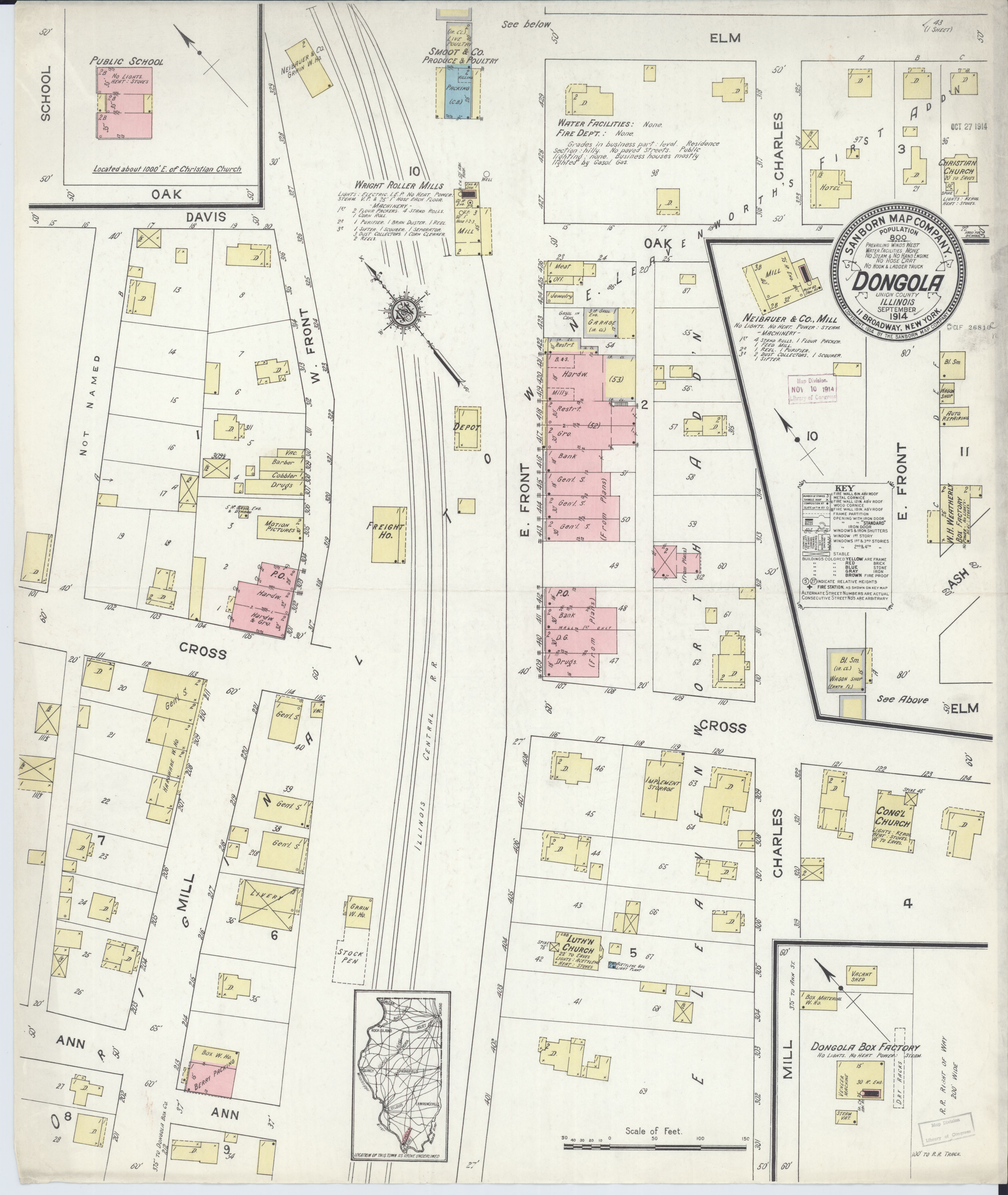 File:Sanborn Fire Insurance Map from Dongola, Union County, Illinois on map of elmwood, map of flossmoor, map of dalzell, map of wadi halfa, map of granite city, map of zinder, map of rumbek, map of farmer city, map of south darfur, map of kenema, map of faiyum, map of elburn, map of zeila, map of brownstown, map of kom ombo, map of arthur, map of dallas city, map of future city, map of giant city state park, map of rafah,