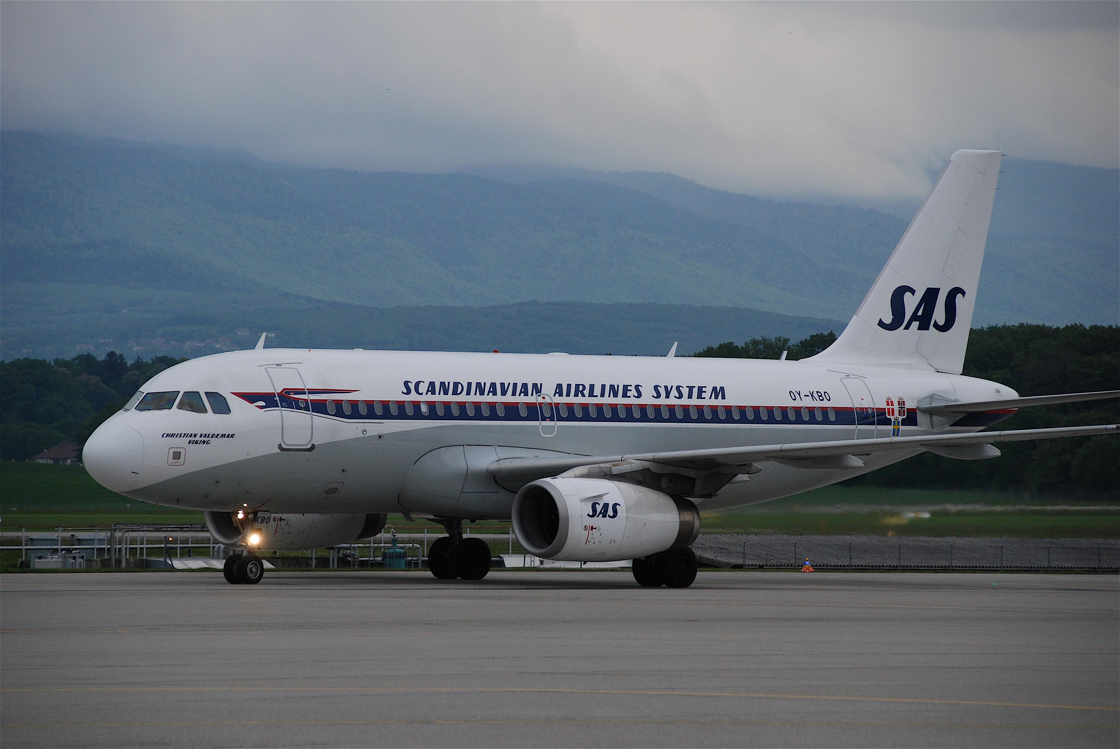 sas airlines english