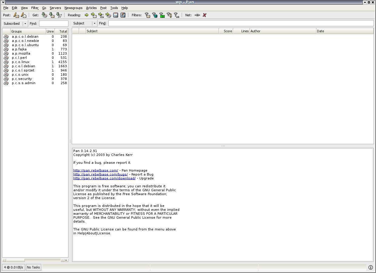 File Screenshot Of Pan Newsreader Application Jpg Wikipedia