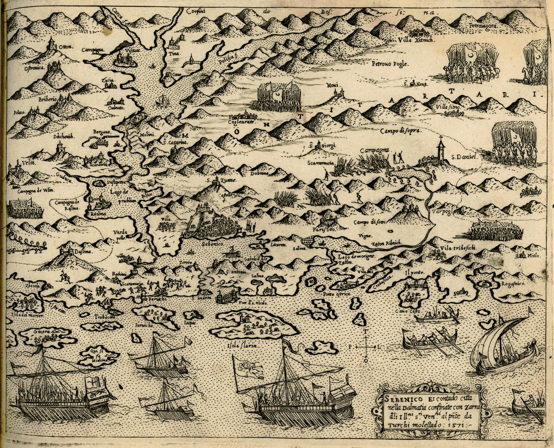 File:Sebenico - Camocio Giovanni Francesco - 1574.jpg