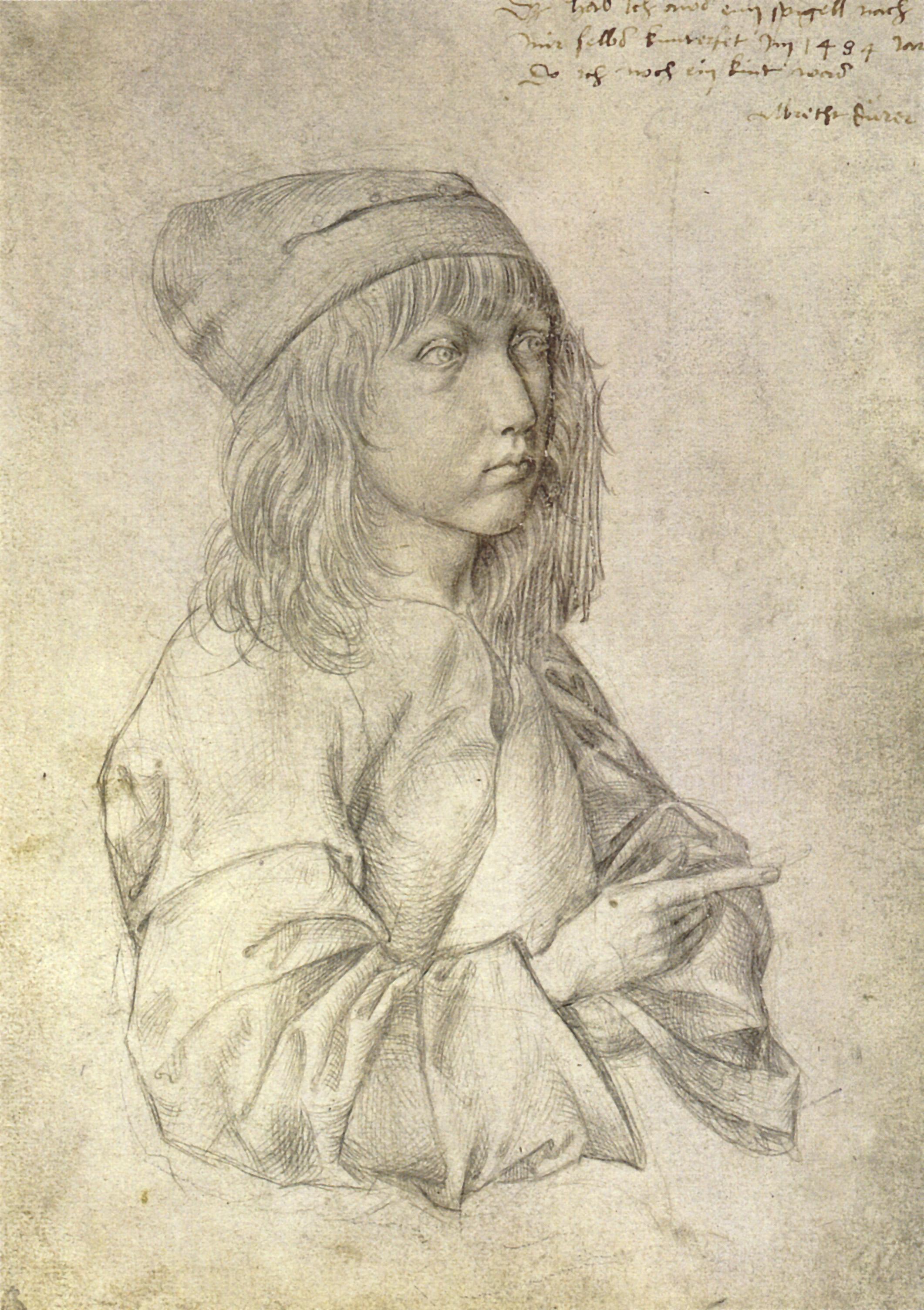 Dürers Selbstbildnisse – Wikipedia