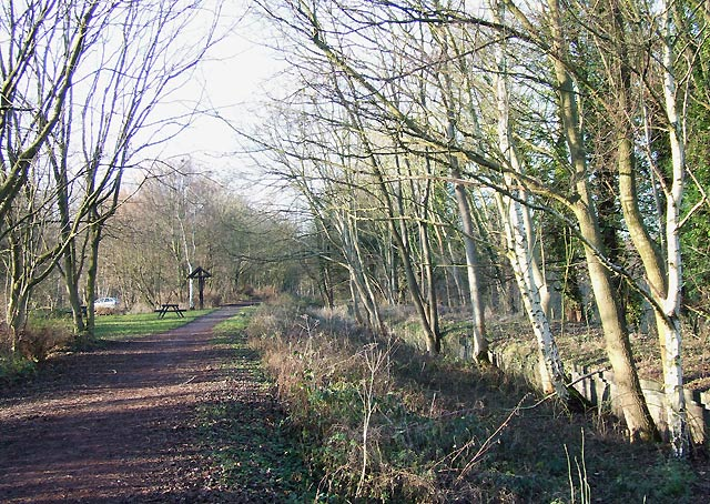 South Staffordshire Railway Walk, Himley Station - geograph.org.uk - 633192