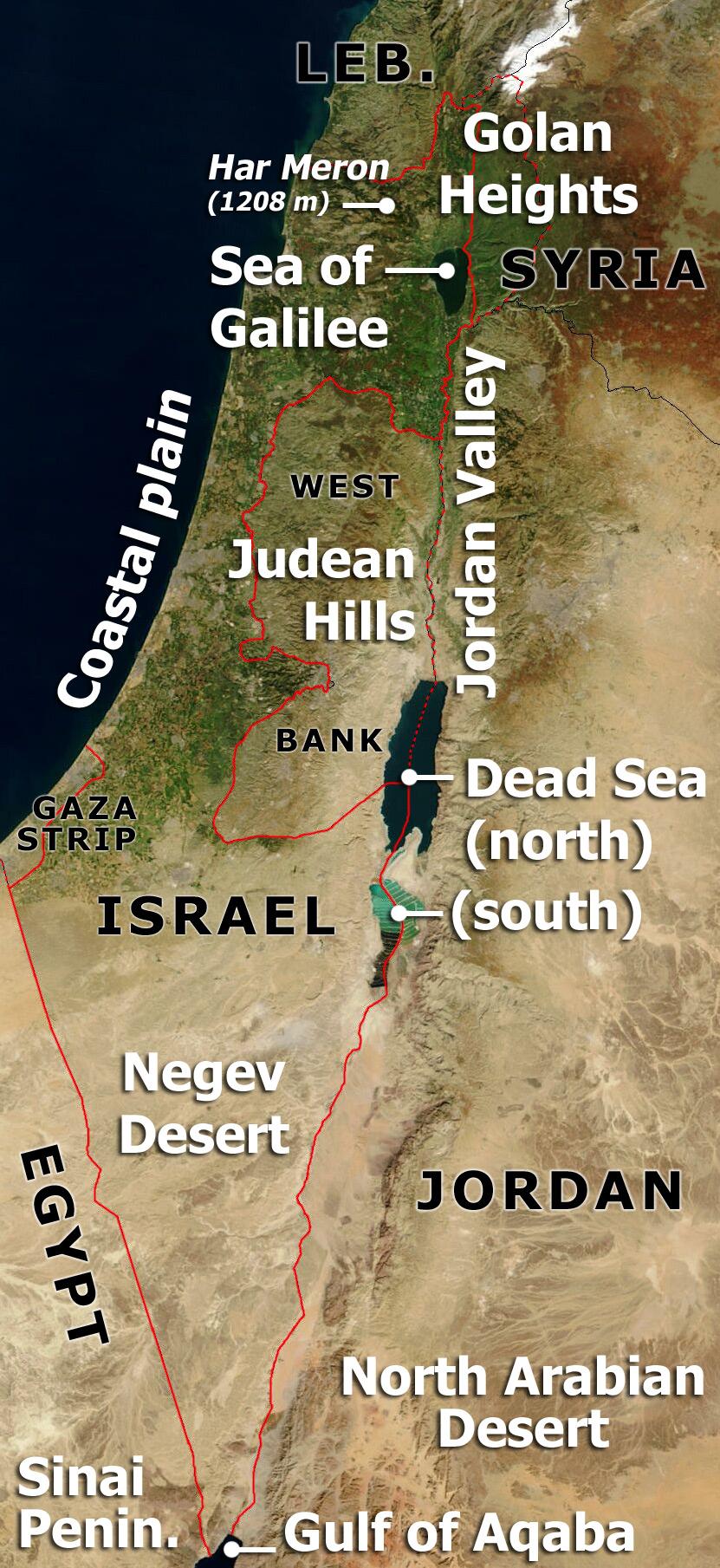 Israeli Wine Regions