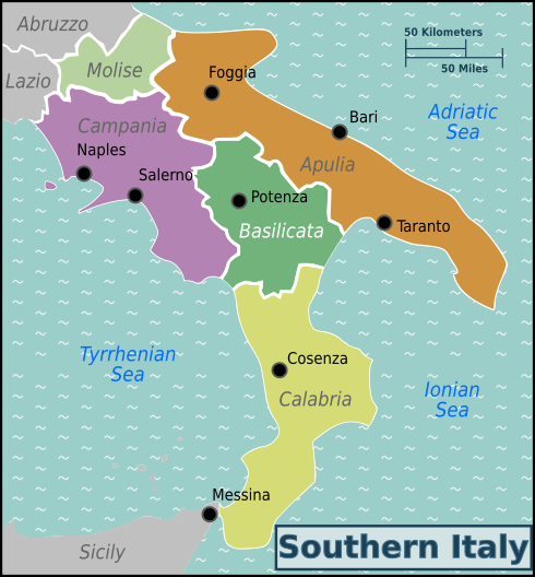 Southern Italy – Travel guide at Wikivoyage