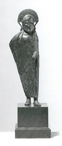 Bronze figure of a Spartan officer. 6th - 5th century B.C