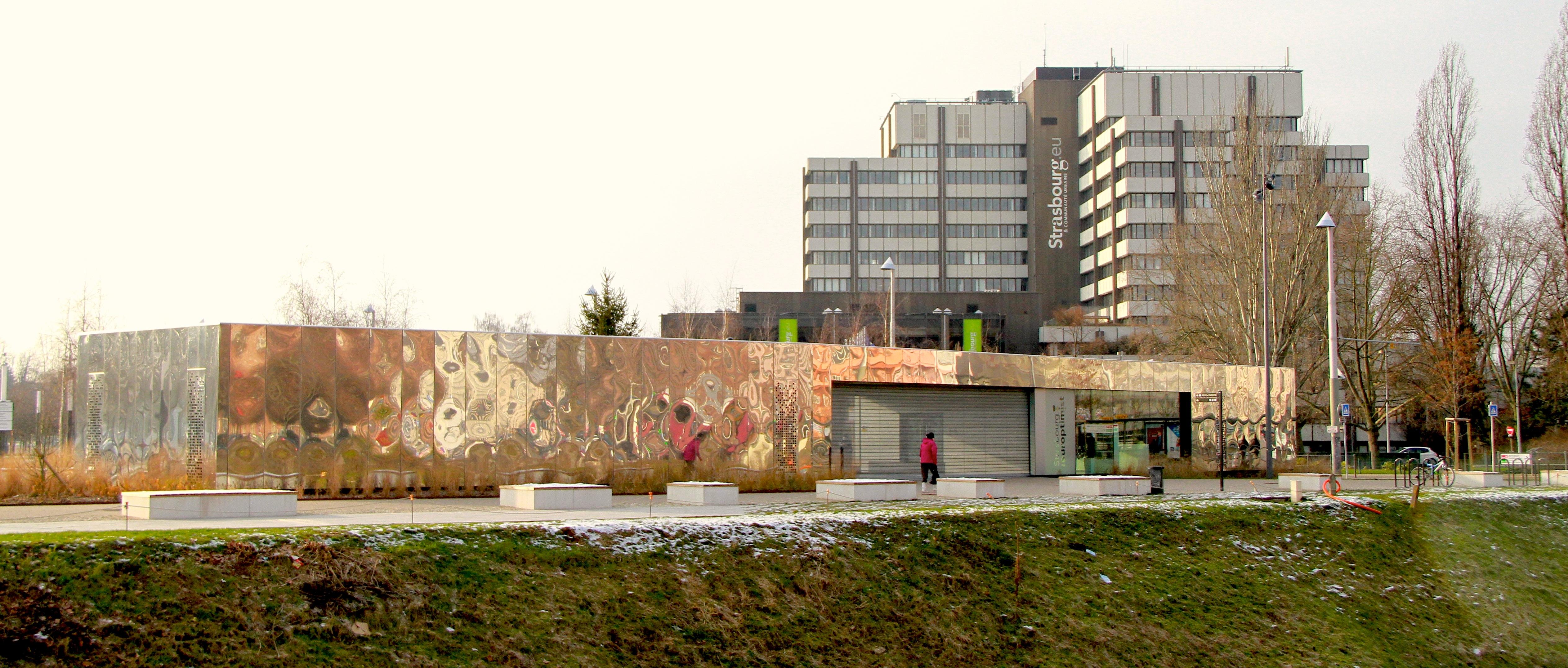 File strasbourg parc de l 39 etoile pavillon d 39 accueil de l for Parc des expo strasbourg