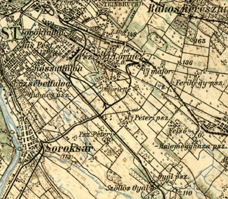 soroksár térkép Fájl:Térkép délkelet pest anno. – Wikipédia soroksár térkép