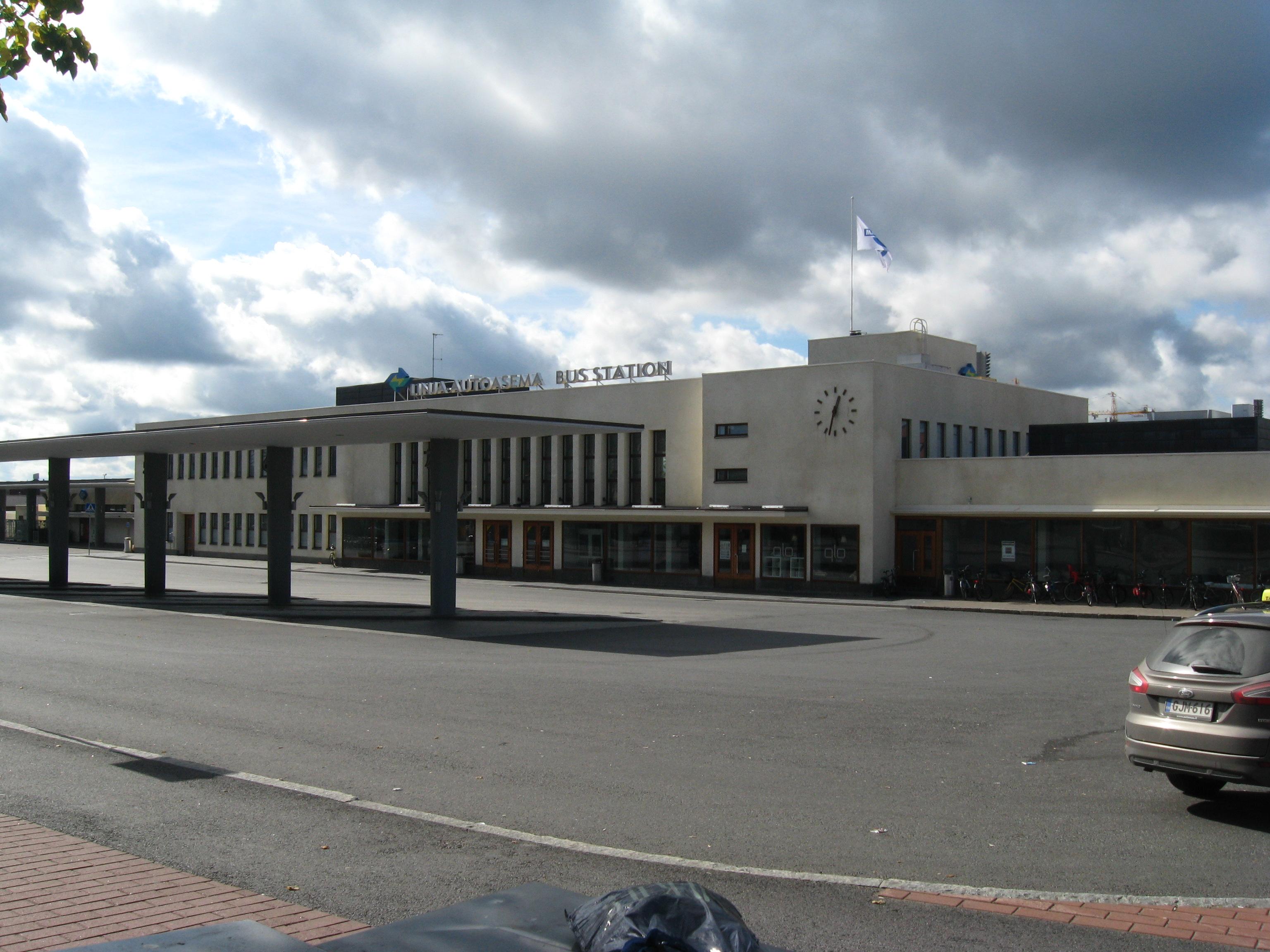 Tampereen Linja Autoasema Wikipedia