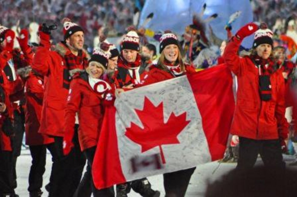 File:Team Canada at 2010 Winter Olympics opening ceremony ...