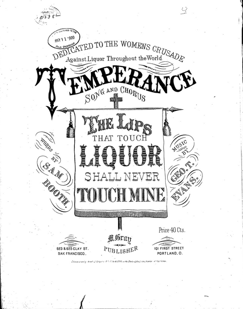 Temperance songs - Wikipedia