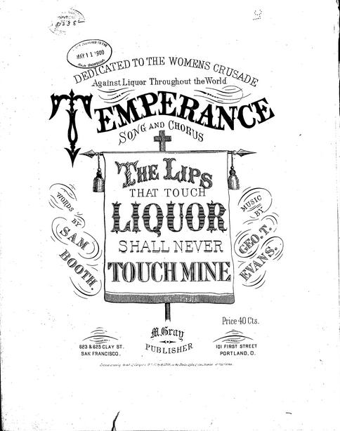 Temperance Songs Wikipedia