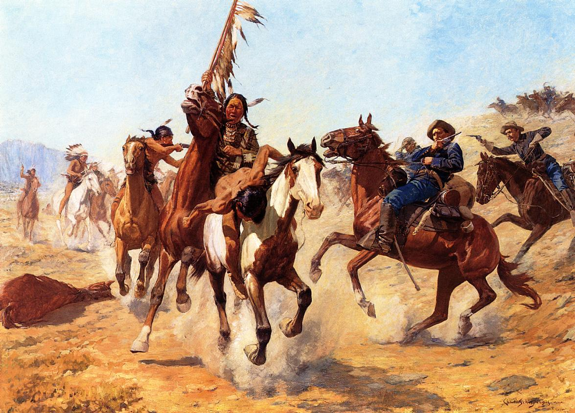 a fictional recount of a sioux battle with soldiers Home of tv nostalgia create your a group of union soldiers mistook his sneeze for an order duffy loves to recount his exploits alongside davy crockett.