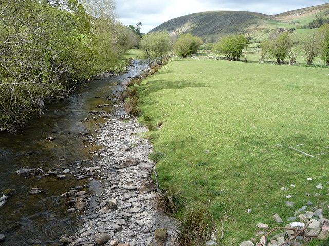 The Afon Ceiriog in the Upper Ceiriog Valley - geograph.org.uk - 1863995
