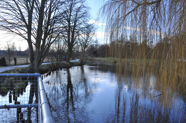 The River Slea at Cogglesford Mill - Sleaford - geograph.org.uk - 1639891