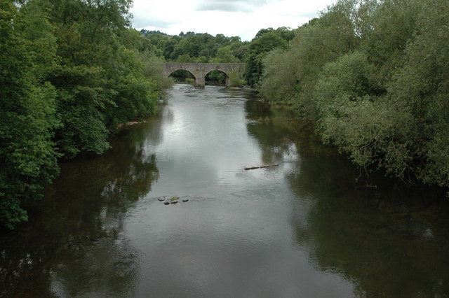 The River Usk - geograph.org.uk - 1382773