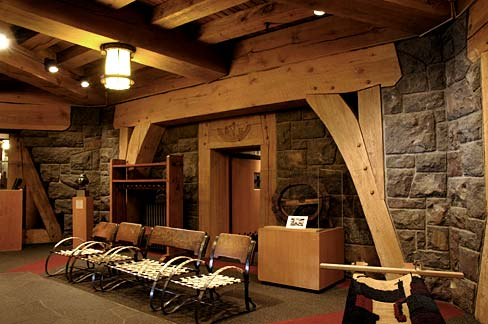 File Timberline Lodge Interior Clackamas County Oregon