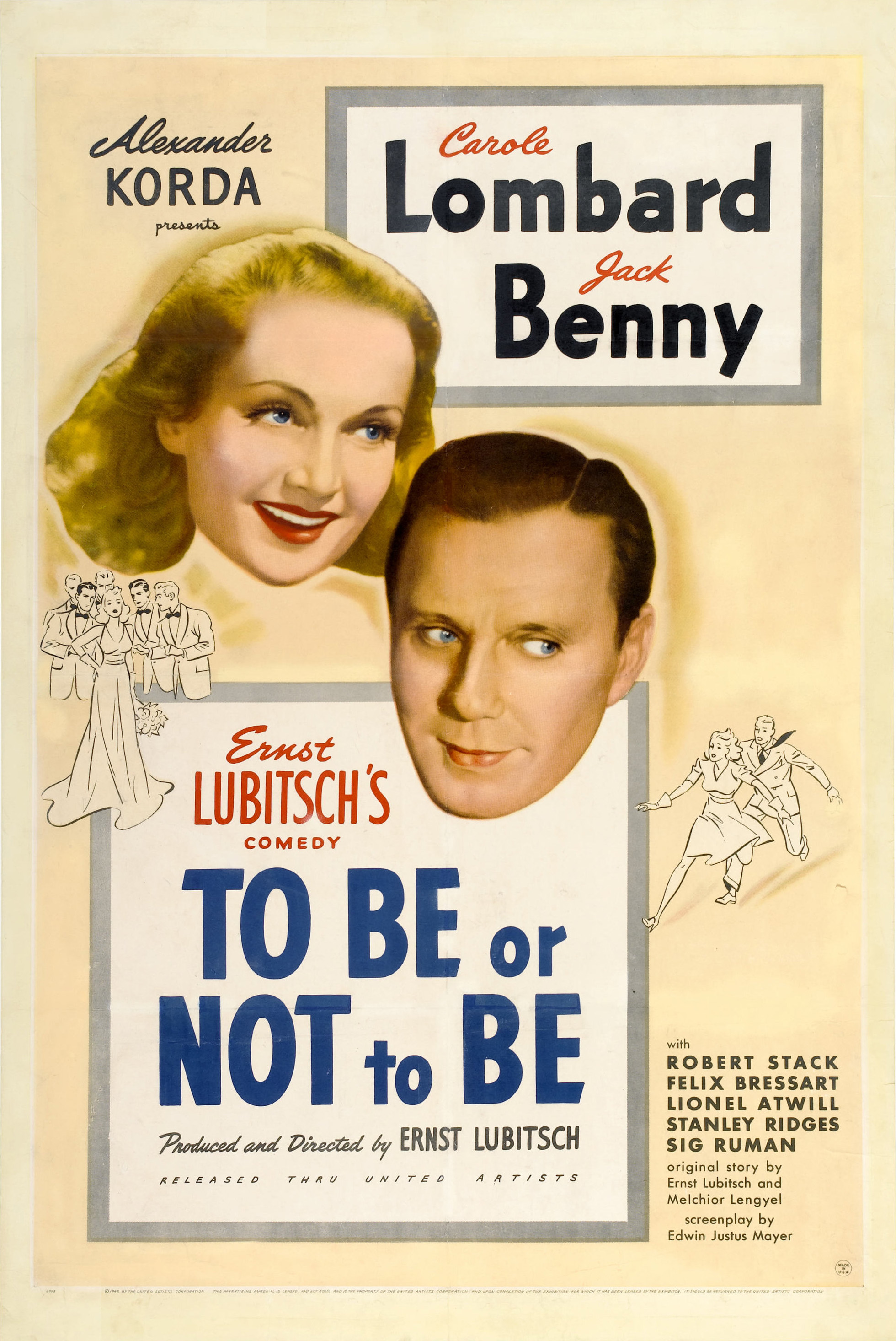 File:To Be or Not to Be (1942 film poster).jpg - Wikimedia Commons