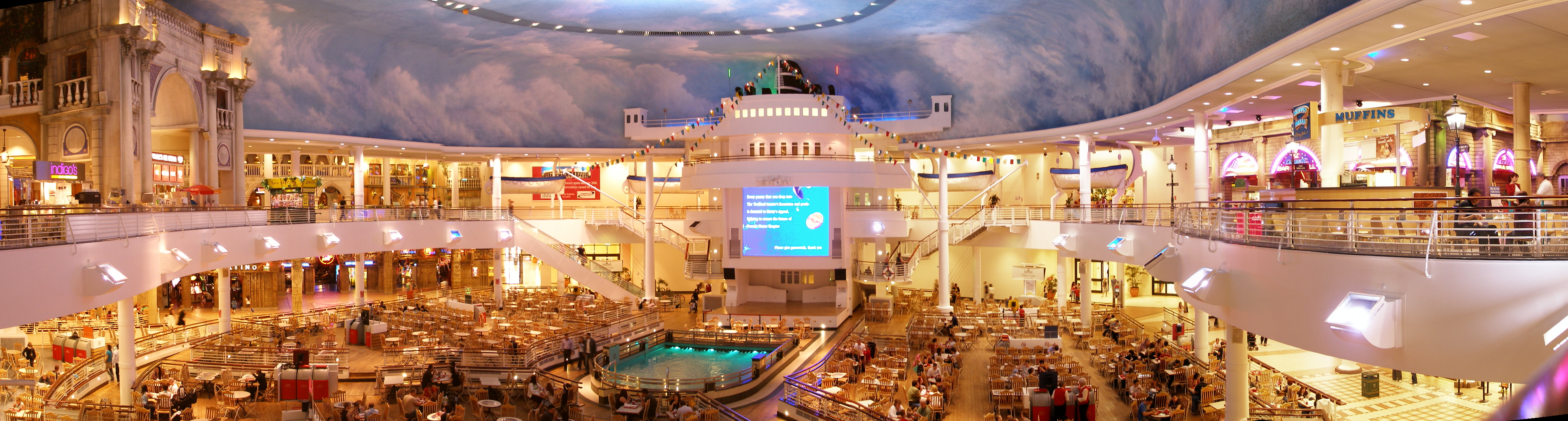 Trafford Centre Opening Times Food Court