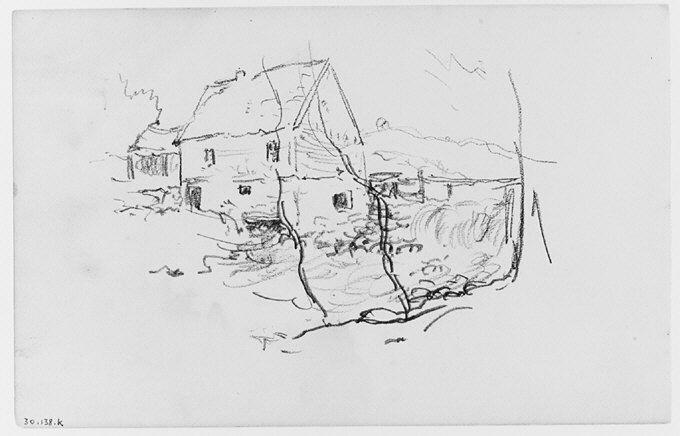 File:View of House by Waterfall (from Sketchbook) MET 263363.jpg