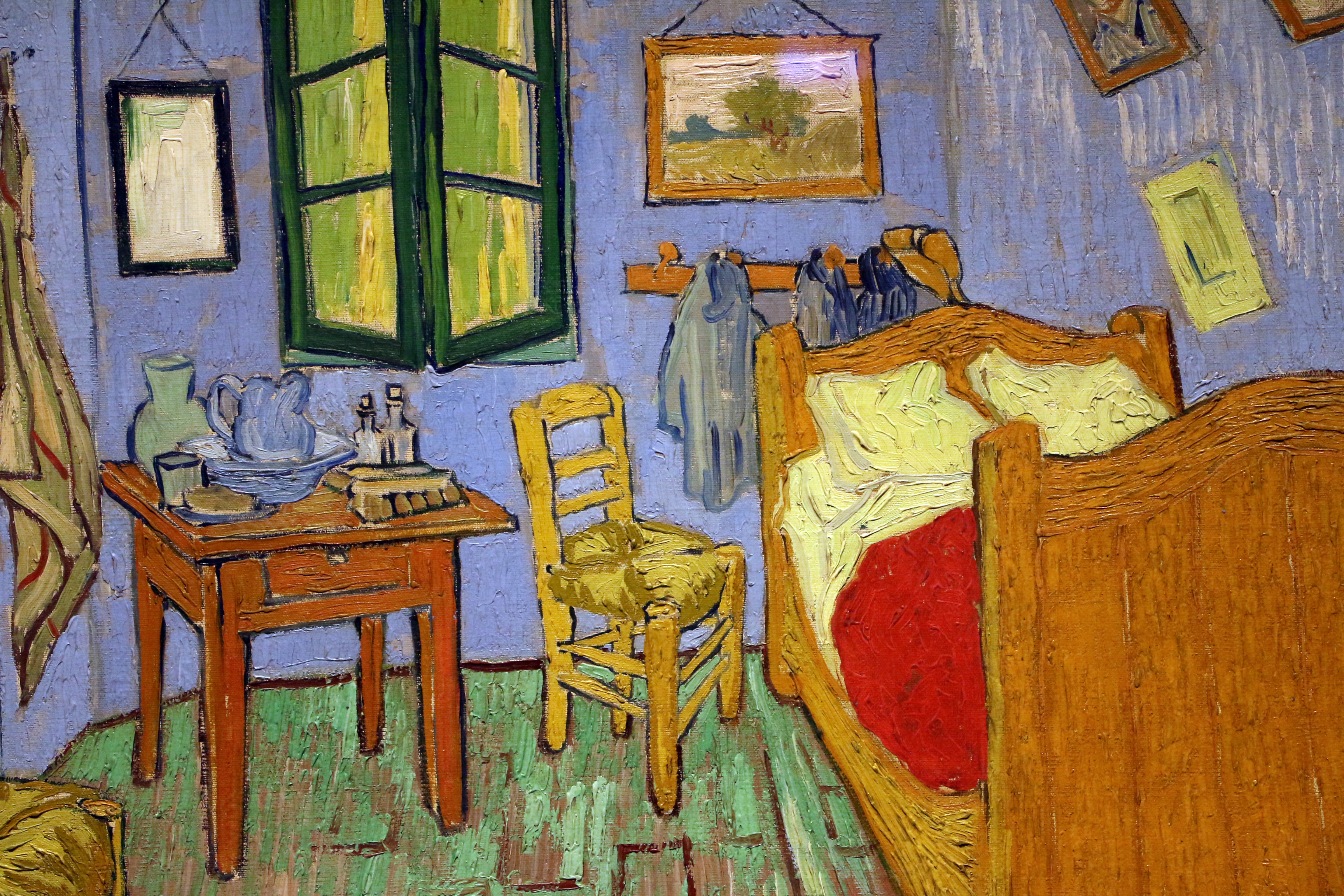 File vincent van gogh la camera da letto 1889 wikimedia commons - La camera da letto van gogh ...