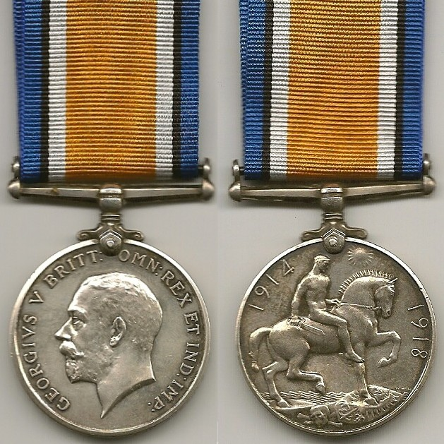 WW1 George V Cross for Gallantry Medal /& Gold Armistice Commemorative Coin Set