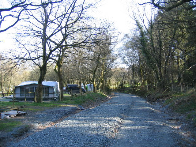 Welsh Highland Railway in the Beddgelert Forest - geograph.org.uk - 274089