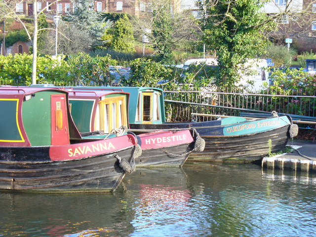 Winter Moorings, Guildford - geograph.org.uk - 1055161